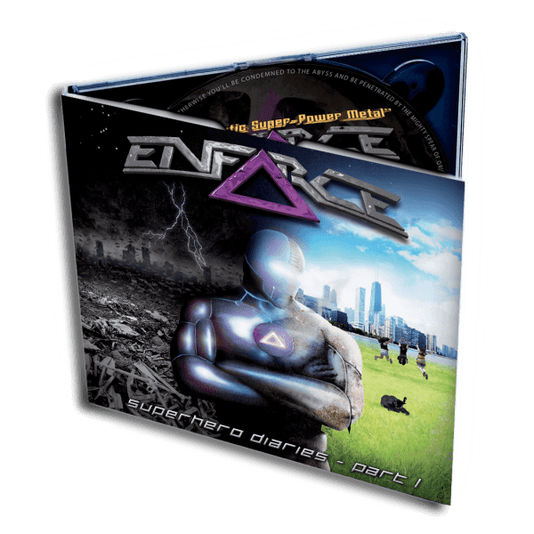 Superhero Diaries - Part I (CD)